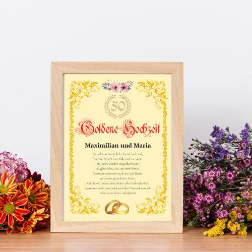 Urkunde Zum Hochzeitstag Vorlagen Hier Herunterladen