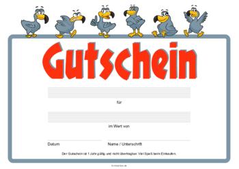 GUTSCHEIN COMIC