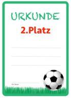 Urkunde Fussball Zum Ausdrucken