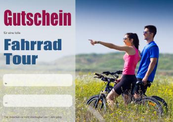 Gutschein Fahrrad Rennrad Pdf Vorlage Zum Ausdrucken