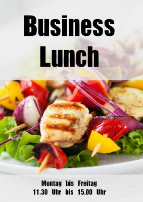 Poster Business Lunch hier downloaden