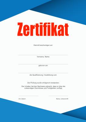 Zertifikat Vorlage Word 2021 0