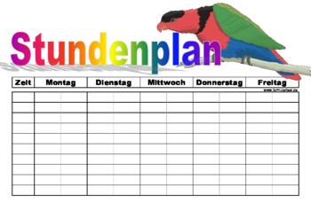 Vorlagen f r die schule zum ausdrucken 2 downloaden for Tabelle querformat