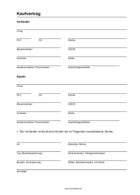 Anhänger privat pdf kaufvertrag Kaufvertrag anhänger