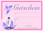Gutschein 'Wellness, SPA'