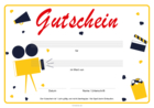 Gutschein 'Film, Kino, Video'