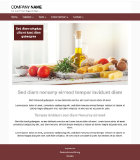 Website Template Business 'Brown'