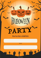 Poster Halloween Party hier downloaden