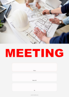 Meeting Einladung, Ingenieure